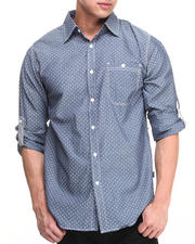 Buyers Picks - Roll-up Dottingston Buton Down shirt