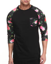 Buyers Picks - Flowers N Stuff Raglan Pocket Shirt