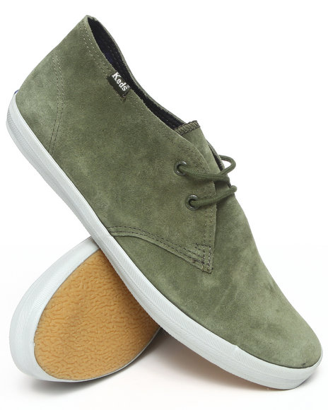 Keds - Men Olive Champion Chukka Mid