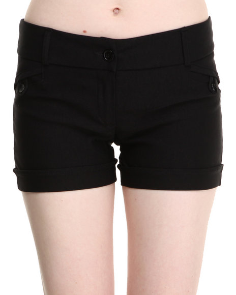 Fashion Lab - Women Black Jess Basic Short