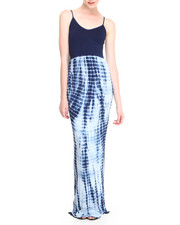 Dresses - Blue Jay Seamless Cami Maxi Dress w/ Tie-Dye Bottom