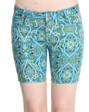 Fashion Lab - Paisley Park Bermuda Short