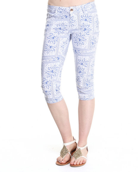 Fashion Lab Blue Capris