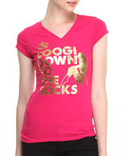 Women - Coogi Down to the Socks V-Neck Tee