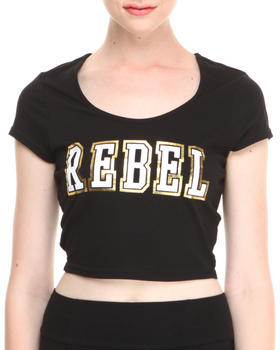 "COOGI - Two-Tone ""Rebel"" Crop Top"