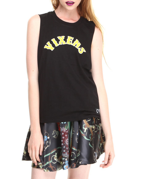 Crooks & Castles - Vixens Sleeveless Tee Shirt