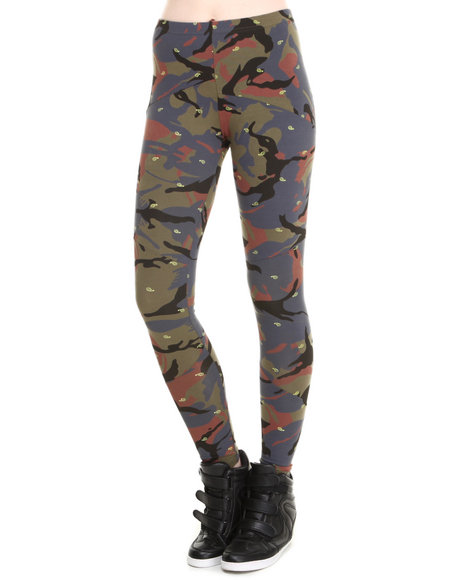 Crooks & Castles - Double Barrel Knit Leggings
