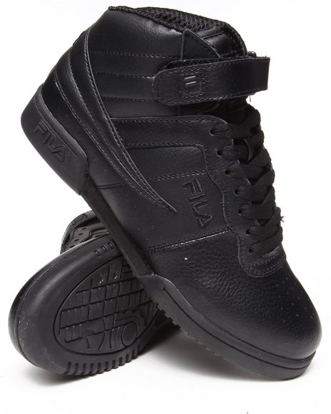 Fila Black F-13V Hightop Sneaker
