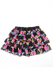 Sizes 7-16 - Big Kids - Chiffon Tier Skirt (7-16)