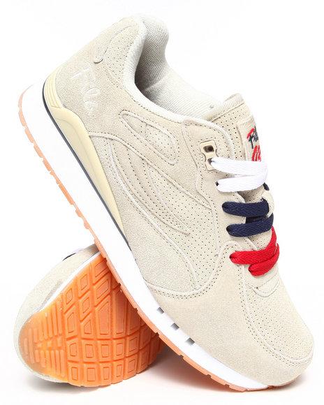 Ur-ID 222871 Fila - Men Tan Overpass Suede Sneaker by Fila