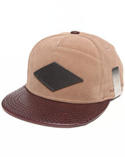 Buyers Picks - Trenches Faux Skin Strapback hat