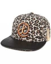 Buyers Picks - Cheetah Print Strapback hat