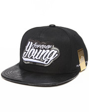 Buyers Picks - Forever Young Faux Snakeskin Strapback hat