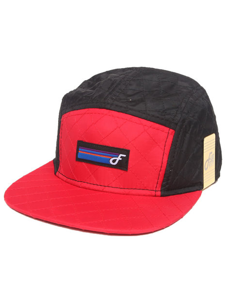 Buyers Picks Men Polar 5 Panel Strapback Hat Red - $11.99