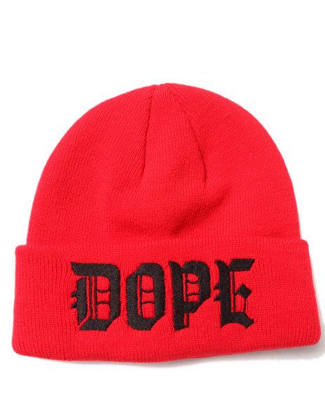 Dope M.O.B. Beanie Red