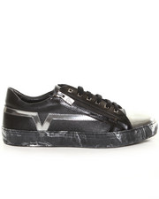 -FEATURES- - Versace Camo Sole Zip Sneaker