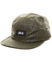 -FEATURES- - Snakeskin Print 5 Panel Hat