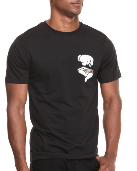 Cayler & Sons - Men Black Kush Premium Tee - $20.00