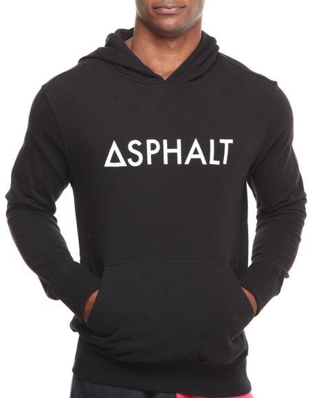 Asphalt Yacht Club Black Og Logotype Pullover Hoodie
