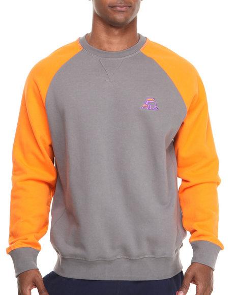 Fila Grey Fila Logo Fleece Sweatshirt
