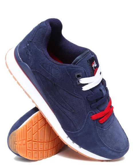 Ur-ID 222870 Fila - Men Navy Overpass Suede Sneaker by Fila