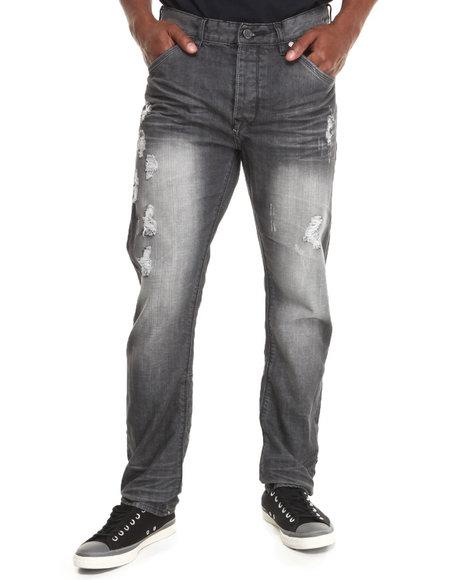Syn Jeans - Men Black Quirin Denim Jeans