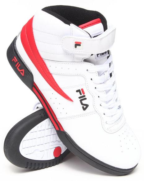 Fila Red F-13 Hightop Sneaker