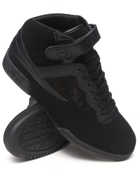 Fila - Men Black F-13 Hightop Sneaker - $55.99