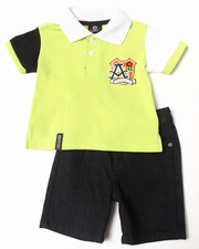 Sets - 2 PC SET - POLO & SHORTS (INFANT)