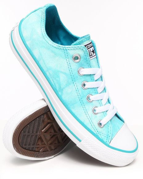 Converse - Women Blue Tie Dye Chuck Taylor All Star Sneakers