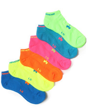 Under Armour - Neon No-Show Socks (6 Pack)