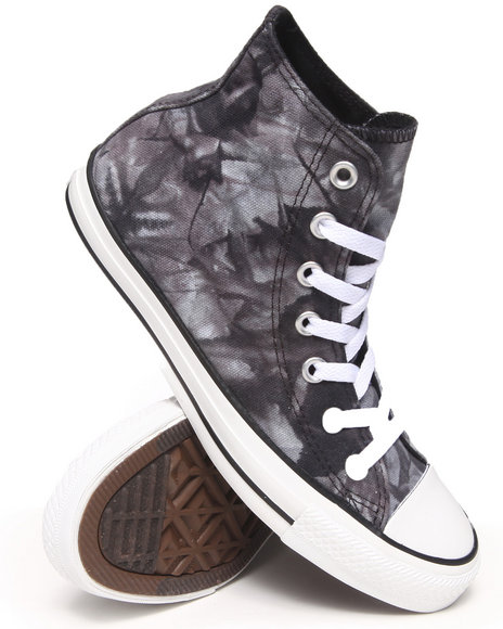 Converse - Women Black Tie Dye Chuck Taylor All Sneakers