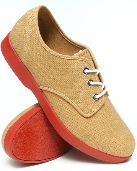 Keds - Men Tan Booster Hopsack Canvas Lo