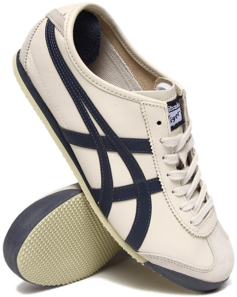 Asics - Men Cream Mexico 66 Sneakers