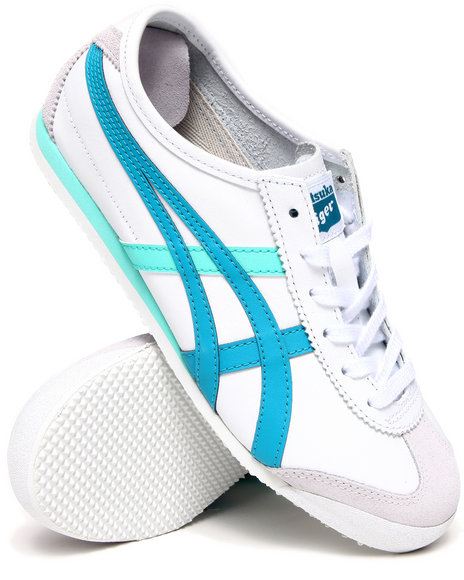 Asics - Women White Mexico 66 Sneakers - $44.99