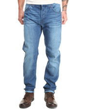 Nudie Jeans - Steady Eddie Organic Deep Sea Jeans