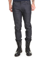 Straight - Thin Finn Organic Dry Dark Grey Jeans