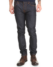 -FEATURES- - Grim Tim Organic Dry Navy Jeans