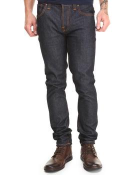 Nudie Jeans - Grim Tim Organic Dry Navy Jeans