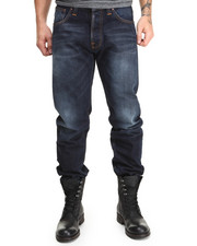 Nudie Jeans - Straight Alf Organic Contrast Indigo Jeans