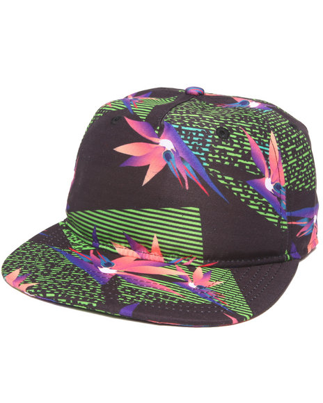 Neff Riff Raff Collab Snapback Hat Multi