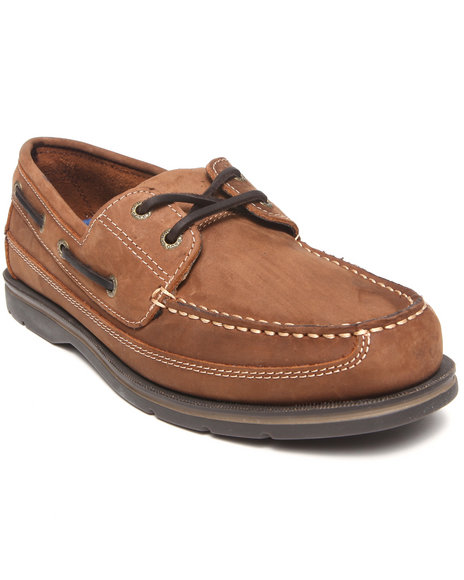 Sebago Brown Grinder Boat Shoe