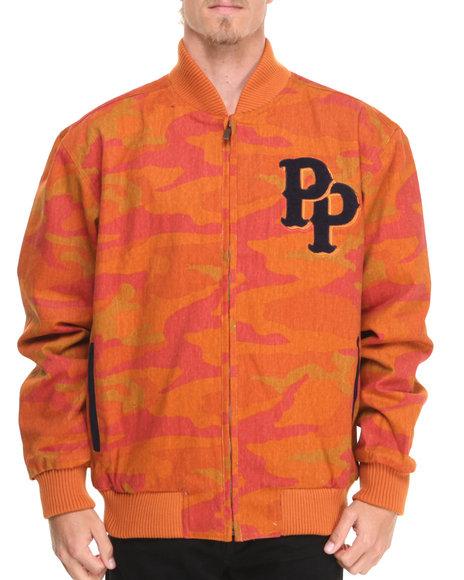 Pelle Pelle Camo,Copper Chenille Cooper Jacket