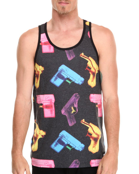 Neff Black P-Shooter Tank Top