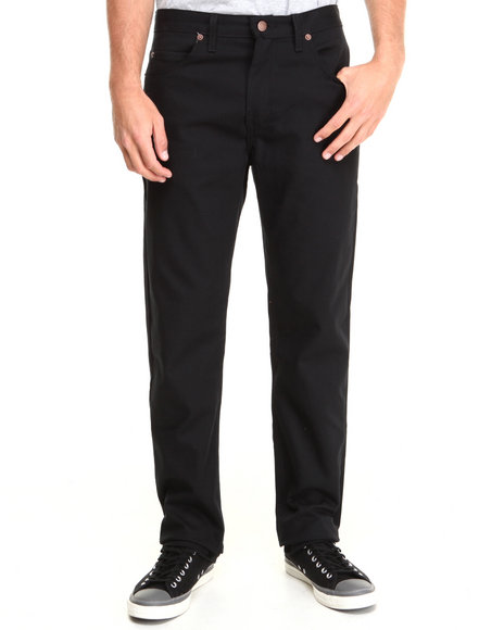 Dickies Black Twill 5-Pocket Pant