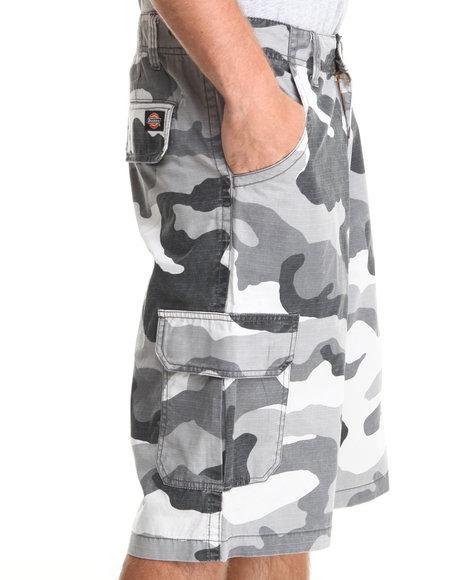 Camo Cargo Shorts for Men