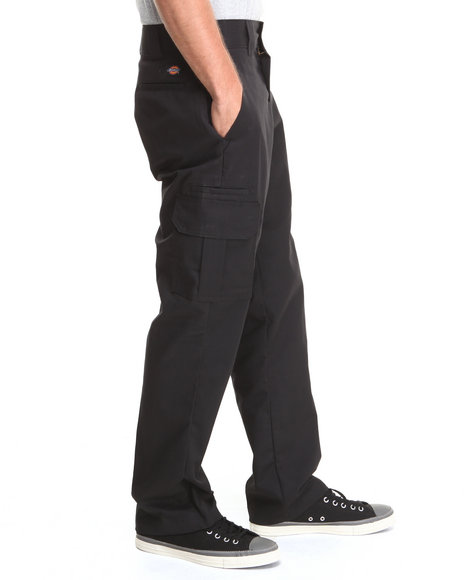 Black Mens Cargo Pants
