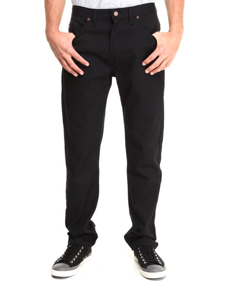 Dickies - Men Black Twill 5-Pocket Pant