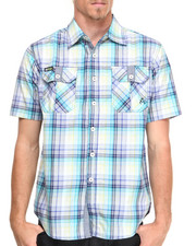 Akademiks - GTO Paid S/S Button Down shirt