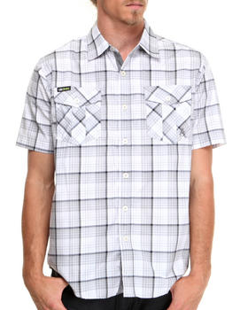 Akademiks - Simon Plaid S/S Button Down Shirt